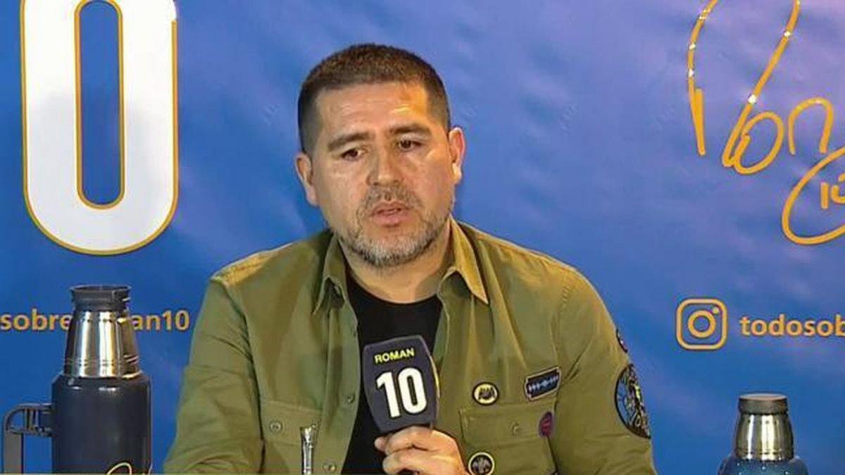 La picante chicana de Juan Román Riquelme a Marcelo Gallardo