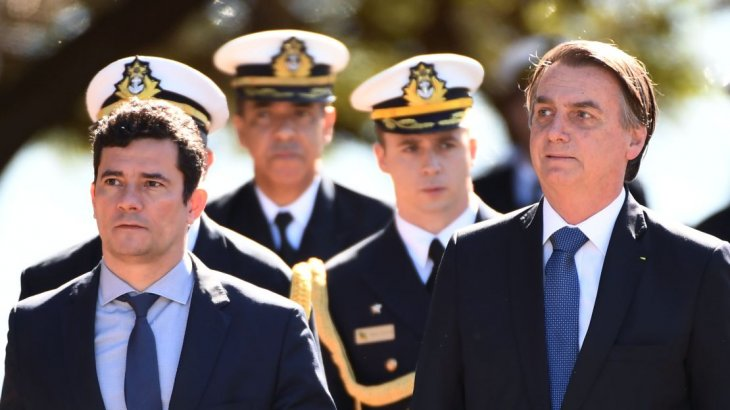Renunció el ministro de Justicia — Crisis en Brasil