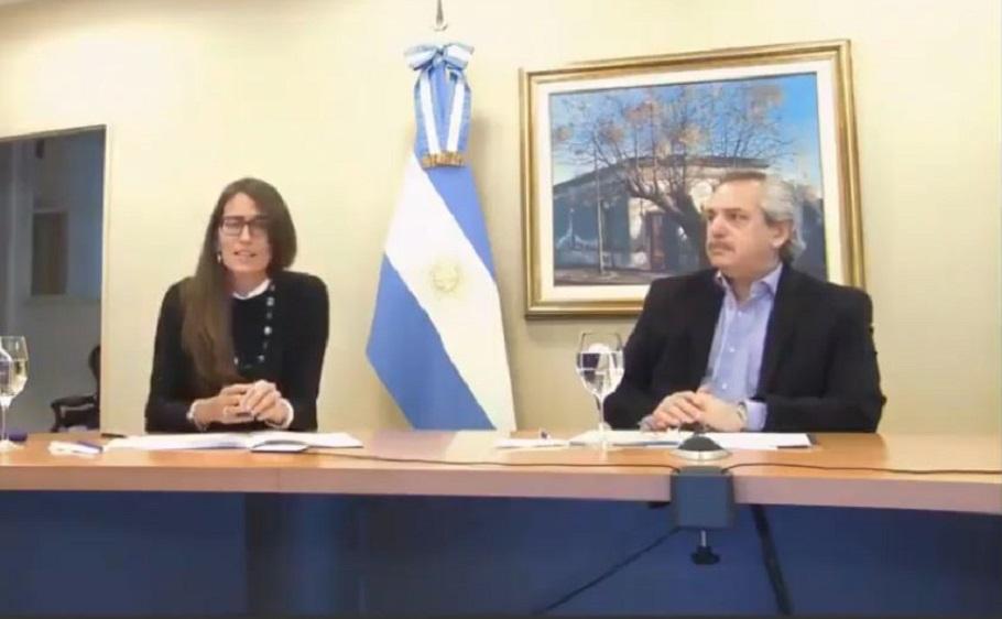 Alberto y Gómez Alcorta presentaron un Plan nacional contra la violencia de  género - Informe Político